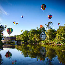 Jeff Folger - Hot air balloons in Queechee 2015