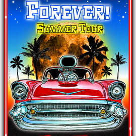 Hot Rods Forever Summer Tour by K Scott Teeters