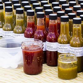 Hot Sauces - Madison Farmers Market by Steven Ralser