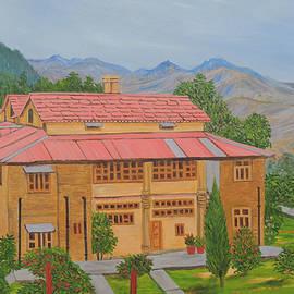 Hotel in Almora by Ajay Harit