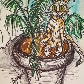 Geraldine Myszenski - House Cat