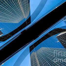 Houston Sky Line II by Thomas Carroll