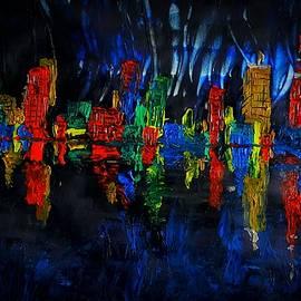 Houston Skyline by Adekunle Ogunade