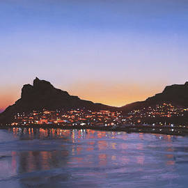 Hout Bay Lights by Christopher Reid