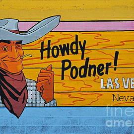 Howdy Podner by Tru Waters