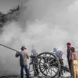 John Straton - Howitzer Battle of Honey Springs v8