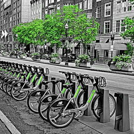 Hubway in Boston by Lyuba Filatova
