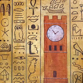 Karen Koch - Hudson Clocktower Inspired by Hieroglyphics