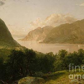 John Frederick Kensett - Hudson River Scene, 1857