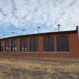 Hugo Union Pacific Railroad Roundhouse - Bridget Calip