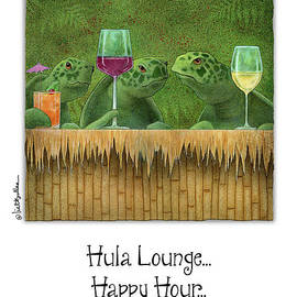 Hula Lounge Happy Hour... - Will Bullas