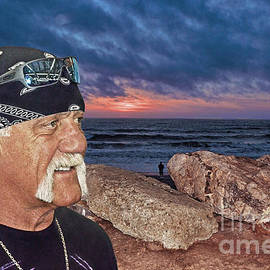 Hulk Hogan at the End of the Day by Jim Fitzpatrick