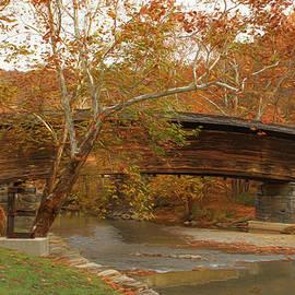 Ola Allen - Humpback Bridge in Autumn