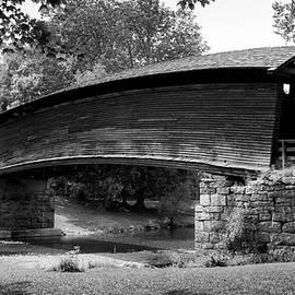 HUMPBACK BRIDGE in Black and White by Karen Wiles