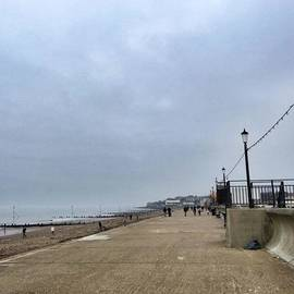 Hunstanton At 4pm Yesterday As The