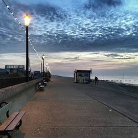 Hunstanton At 5pm Today  #sea #beach