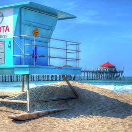 Randy Dyer - Huntington Beach Lifeguard