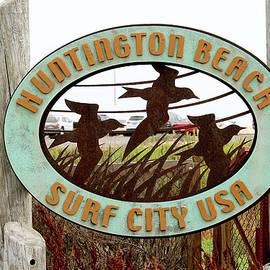 Art Block Collections - Huntington Beach - Surf City USA