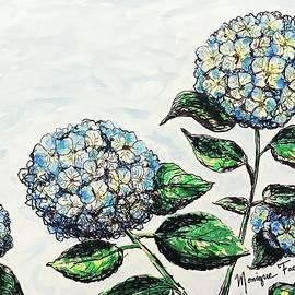 Hydrangeas by Monique Faella