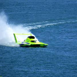 Michael Rucker - Hydroplane Boat Race