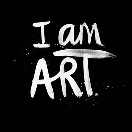 I Am Art- Painted by Linda Woods