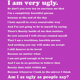 I am Very Ugly Simply Inspired Series 021 - Design Turnpike