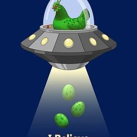 Crista Forest - I Believe In Green Chicken Aliens