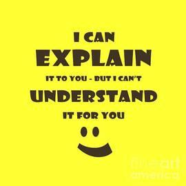 John Stephens - I Can Explain It
