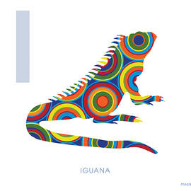 I is for Iguana - Ron Magnes