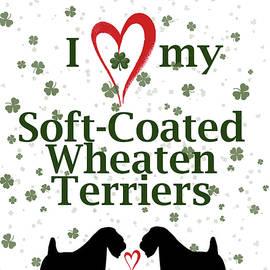 I love my Soft Coated Wheaten Terriers - Rebecca Cozart