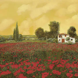 i papaveri e la calda estate by Guido Borelli