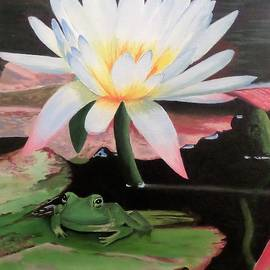 Anne Gardner - I see a little frog
