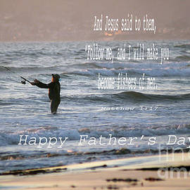 Debby Pueschel - I Will Make You Fishers of Men Fathers Day Card