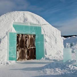 Tamara Sushko - Ice hotel in the north of Sweden