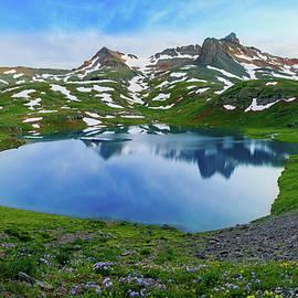 Johnny Adolphson - Ice Lake Panorama