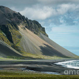 Iceland Cliffs Clouds shadows - Mike Reid
