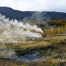 Barbie Corbett-Newmin - Icelandic Fall Scenery with Thermal Features