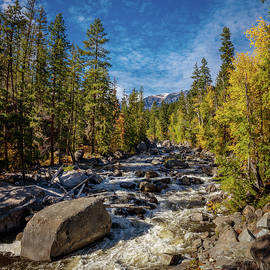 Mike Penney - Icicle River in Fall