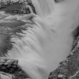 Icy Gullfoss by Benjamin Reed