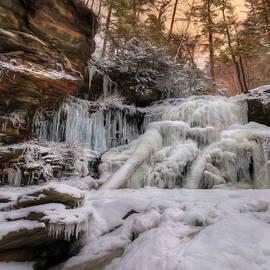 Lori Deiter - Icy Shawnee Falls