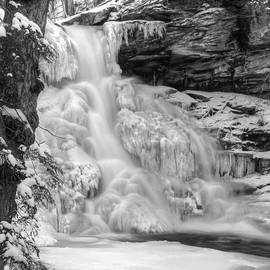 Icy Sheldon Reynolds Falls by Lori Deiter