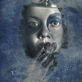 Icy Window Reflection. Wicked Queen Of Winter by Jorgo Photography - Wall Art Gallery