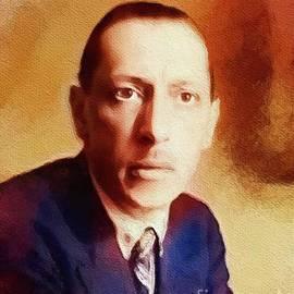 Igor Stravinsky, Famous Composer - John Springfield