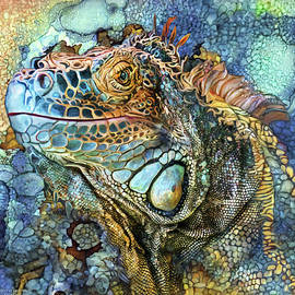 Carol Cavalaris - Iguana - Spirit Of Contentment