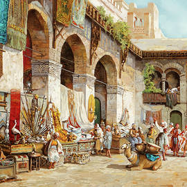 il mercato arabo - Guido Borelli