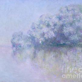 Ile aux Orties near Vernon, 1897  - Claude Monet