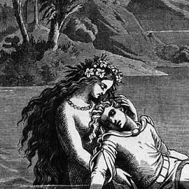Illustration for The Little Mermaid - German School