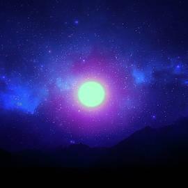 Imaginary Evening Sky