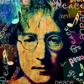 Imagine - John Lennon by Stacey Chiew