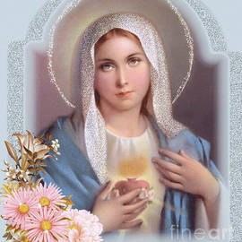 Immaculate Heart of Mary by Doug Norkum